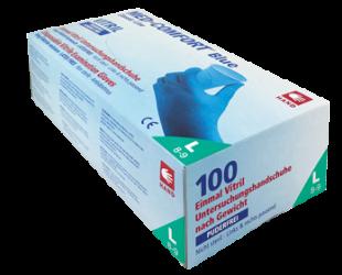 Med-Comfort-Vitril-Einmalhandschuhe